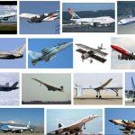 أنواع الطائرات ومميزاتها