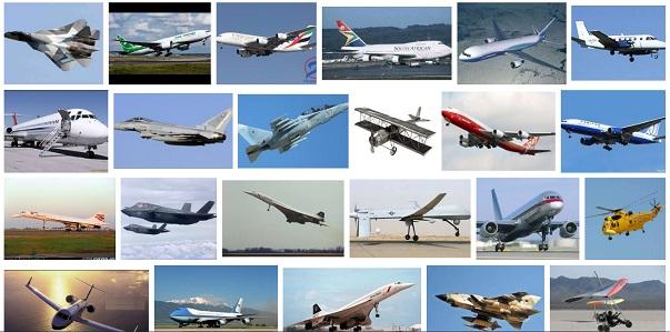 أنواع الطائرات ومميزاتها المرسال