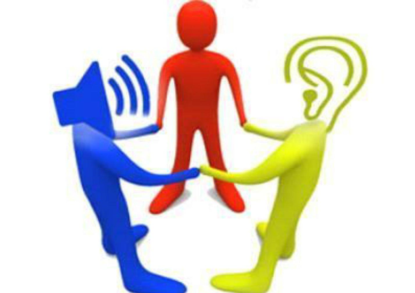 قواعد وأسس الحديث وفن الاستماع - المرسال