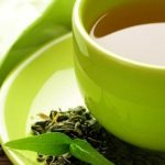 النقرس والشاي الاخضر