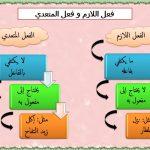 الفرق بين الفعل اللازم والفعل المتعدي