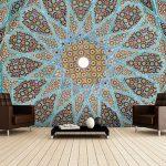 مجموعة من أوراق الحائط بالرسوم الإسلامية