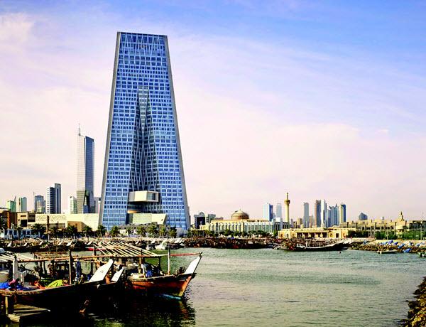 الطراز المعماري لبنك الكويت المركزي الجديد بنك-الكويت-المركزي.j