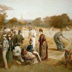 """تاريخ تطور لعبة """" التنس """" كرة المضرب"""