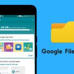 مزايا تطبيق مدير الملفات Google Files Go من شركة جوجل