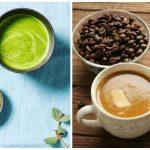 قهوة بوليتفروف ( القهوة المضادة للرصاص ) أم شاي ماتشا الأخضر