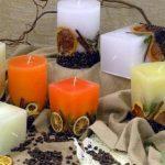 الأدوات والخامات المستخدمة في صناعة الشموع