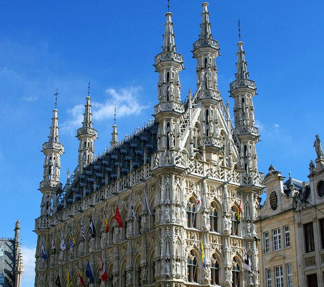 المدينة - السياحة في مدينة لوفان البلجيكية