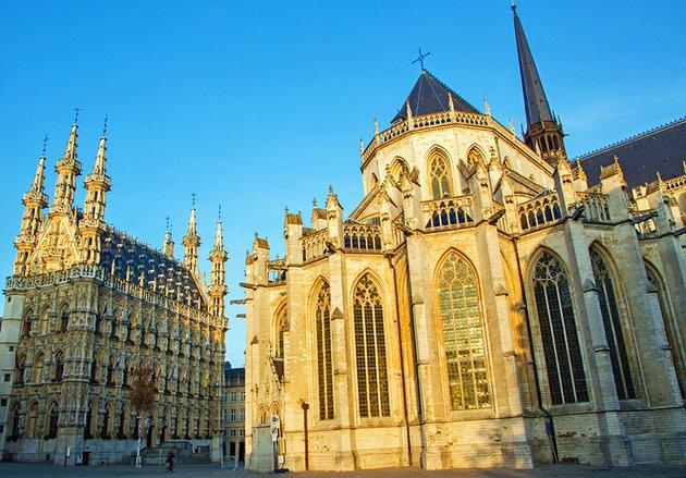القديس بطرس - السياحة في مدينة لوفان البلجيكية