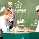 ماغنوس كارلسن الفائز ببطولة الملك سلمان الدولية للشطرنج