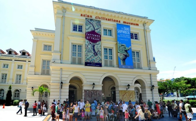 الحضارات الاسيويه - السياحة في الحي المدني بسنغافورة