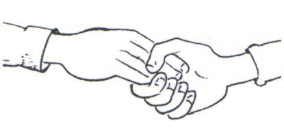 معلومات عن لغة مصافحة اليد ودرجاتها بالصور مصافحة-الأصابع-المرت