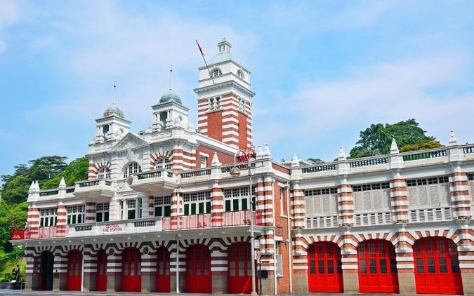 محطة الإطفاء المركزية والدفاع المدني - السياحة في الحي المدني بسنغافورة