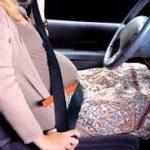 تقرير عن ركوب السيارة للمرأة اثناء الحمل