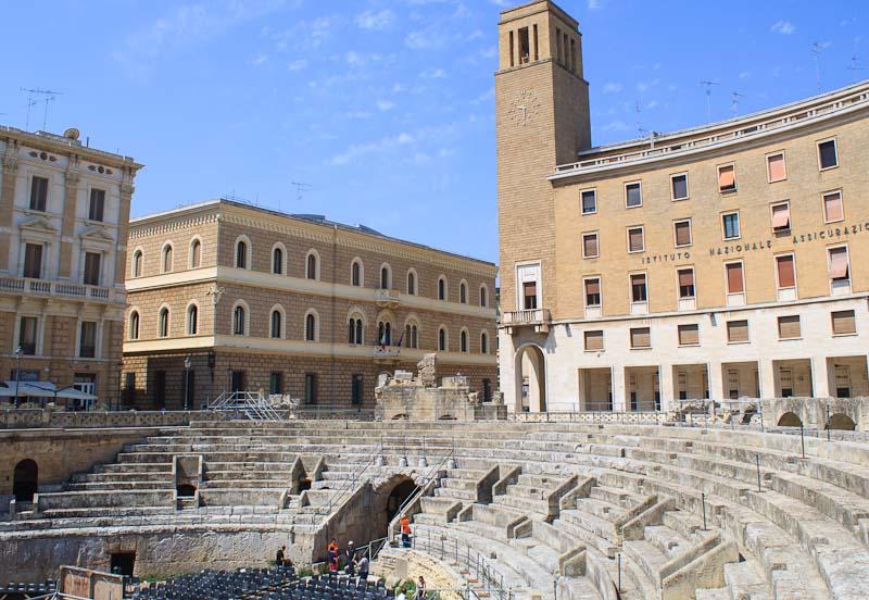 الروماني في ليتشي - مدينة ليتشي الايطالية