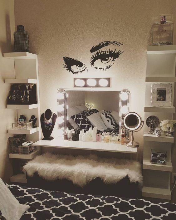 أشكال التسريحات لغرف نوم حديثة المرسال