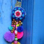 أجمل الأشكال اليدوية لتزيين الأبواب