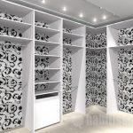 أحدث أشكال غرف الملابس الحديثة دريسنج-ابيض-و-اسود-1