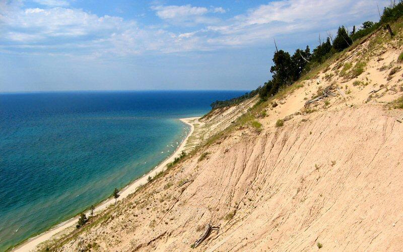 أجمل الشواطئ في ولاية ميشيغان الأمريكية شاطئ-جزيرة-مانيتو-ال