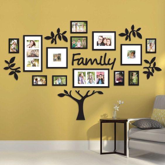 أجمل الديكورات الحائطية المجسمة شجرة-العائ�