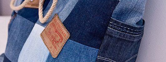 0112062c1e72a أجمل أشكال الحقائب الجينز سهلة التصنيع
