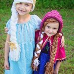 أحدث أشكال القبعات على شكل شعر للصغار