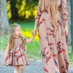 أحدث أذواق الفساتين للأم و الطفلة