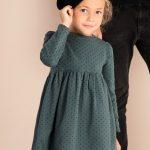 أحدث أشكال الفساتين البناتي لهذا الشتاء