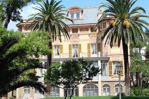 الفريد نوبل في سانريمو ايطاليا - مدينة سانريمو الايطالية