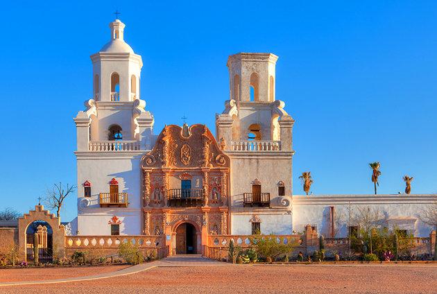 سان خافيير - مدينة توسان الأمريكية