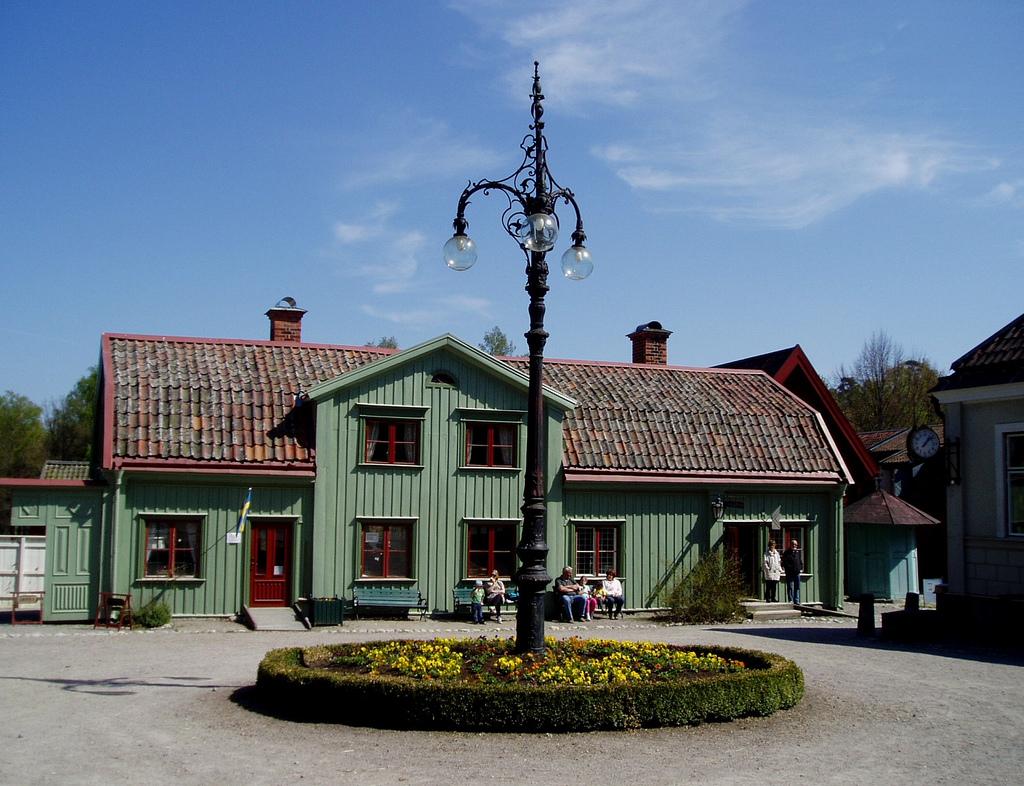 فالبي المفتوح - مدينة فيستيروس  في دولة السويد