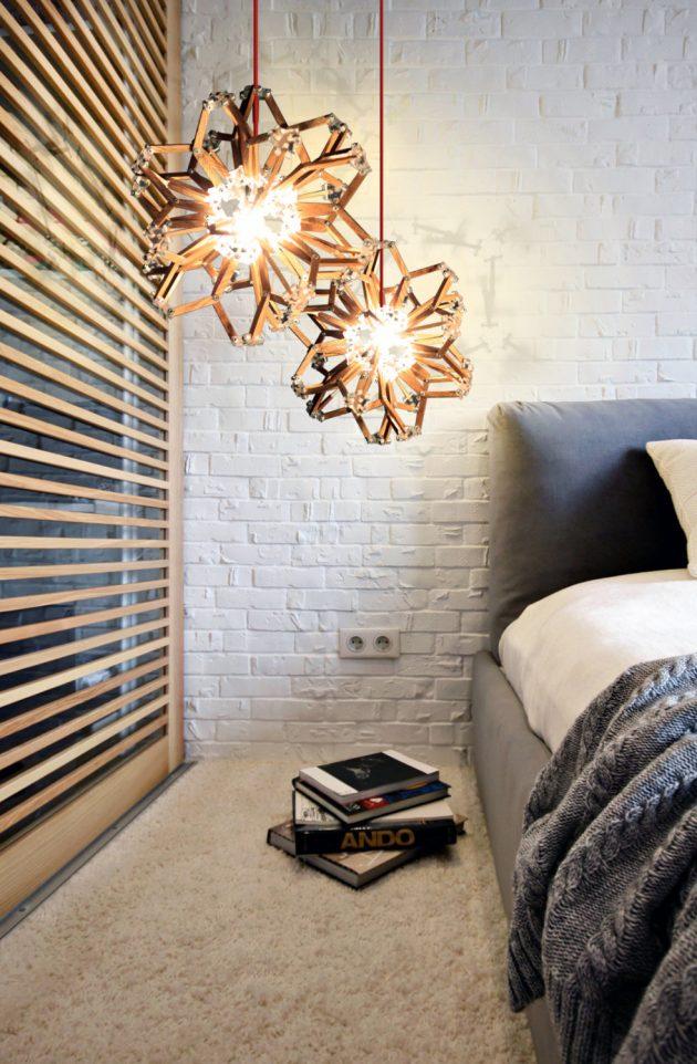 أحدث صيحات غرف النوم لعام الإضاءة-ال�