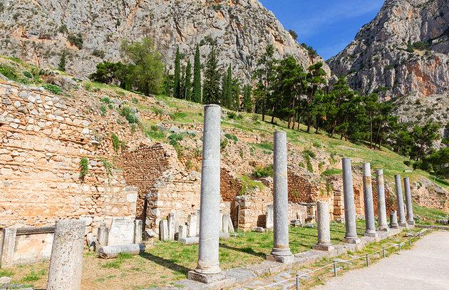 المقدس 1 - مدينة دلفي اليونانية