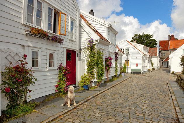 القديمة - مدينة ستافانغر النرويجية