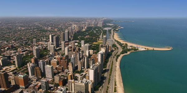 البلوط في شيكاغو - أجمل الشواطئ للأطفال بامريكا