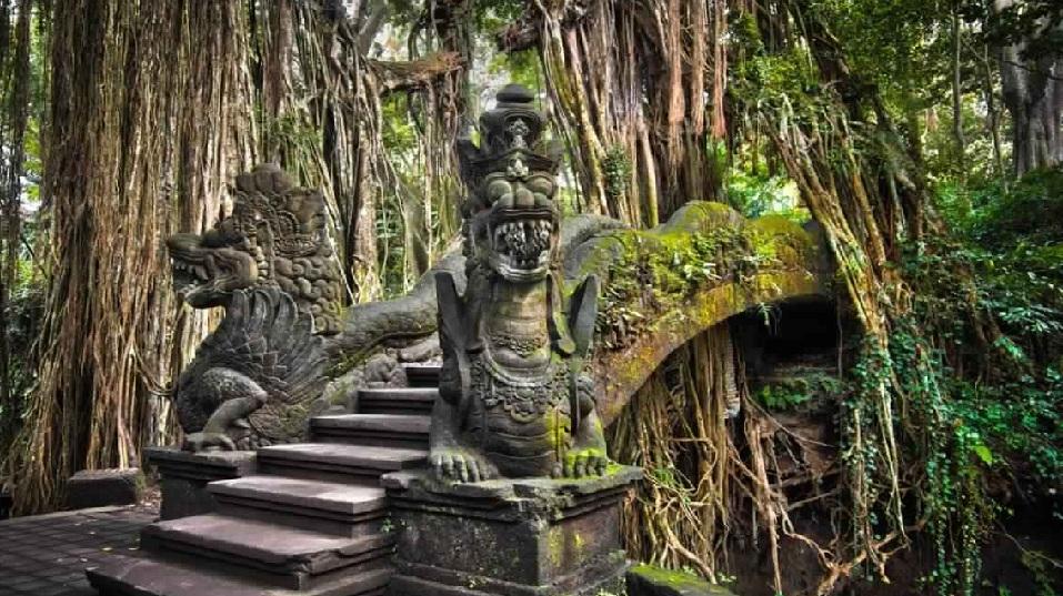 أوبود للقرود - غابة القرود المقدسة من بادانغتيغال