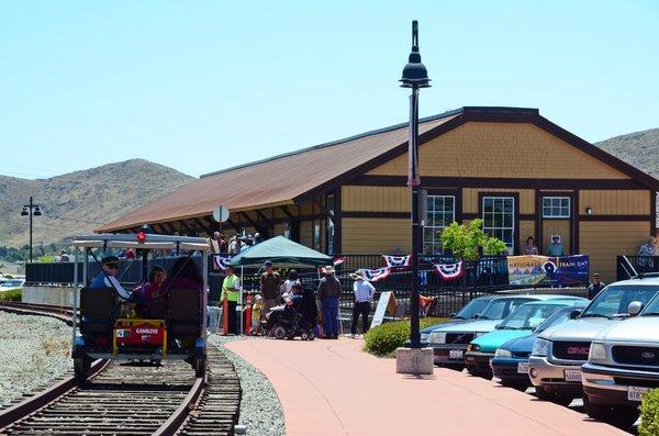 السكك الحديدية - مدينة أوبيسبو الأمريكية