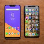 مقارنة بين اسوس Zenfone 5 و ابل Iphone X