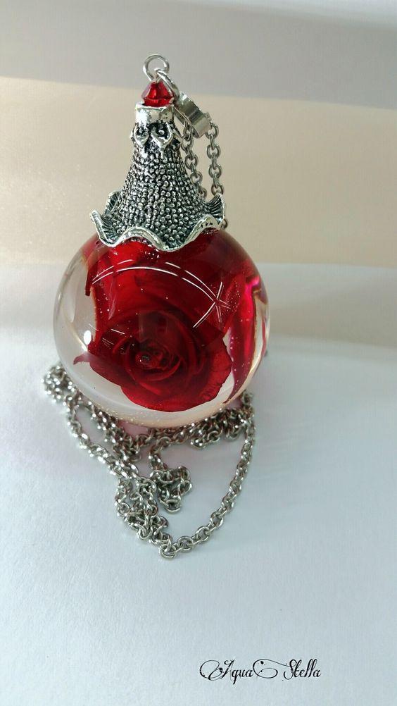اكسوارات نسائية رقيقة من الورود وردة-احمر-1.