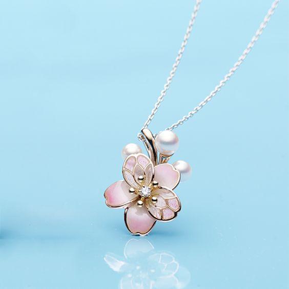 اكسوارات نسائية رقيقة من الورود وردة-ذهبي.jp