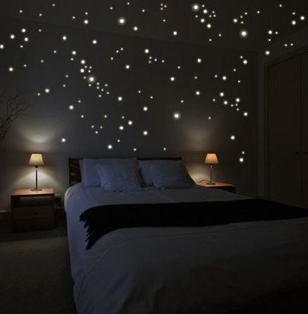 تصاميم رومانسية لغرف نوم حديثة اضاءة-في-ال
