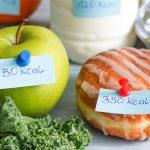 حساب عدد السعرات الحرارية اللازمة لإنقاص الوزن