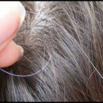 طرق صحية لتأخير ظهور الشعر الابيض