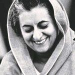 اندريا غاندي أول رئيسة وزراء أنثى للهند