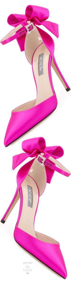 موديلات أحذية جديدة باللون الوردي حذاء-فيونك�