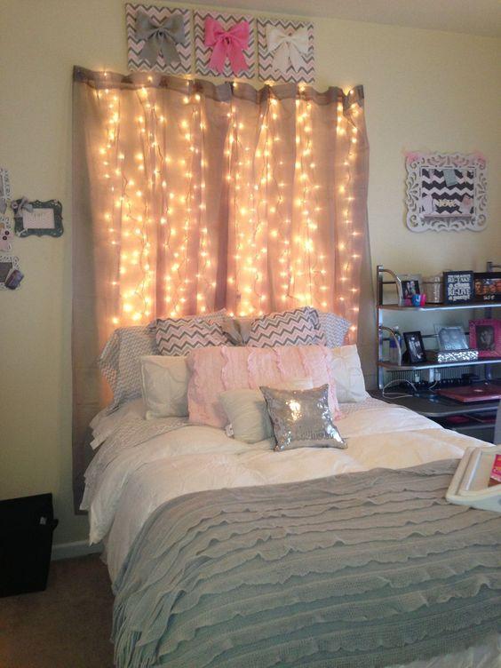 تصاميم رومانسية لغرف نوم حديثة خلفية-سرير-
