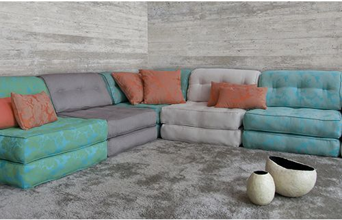 أناقة اللون الرمادي في غرف ركنة-رمادي-