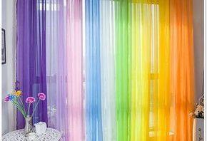 ستائر مميزة متعددة الألوان لعام 2018 المرسال