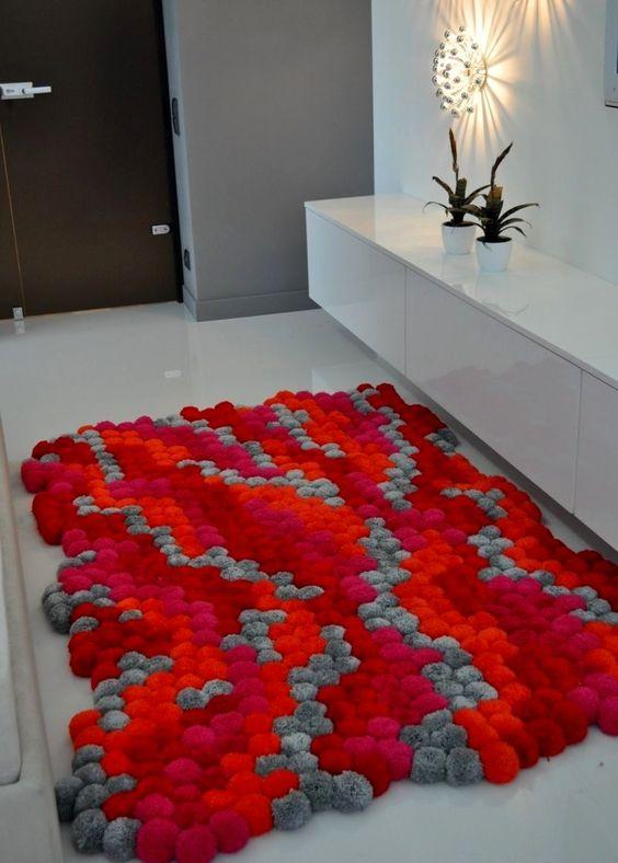 الألوان المتداخلة لأناقة وتميز السجاد سجادة-احمر-