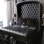اللون الأسود لديكورات غرف نوم أكثر فخامة